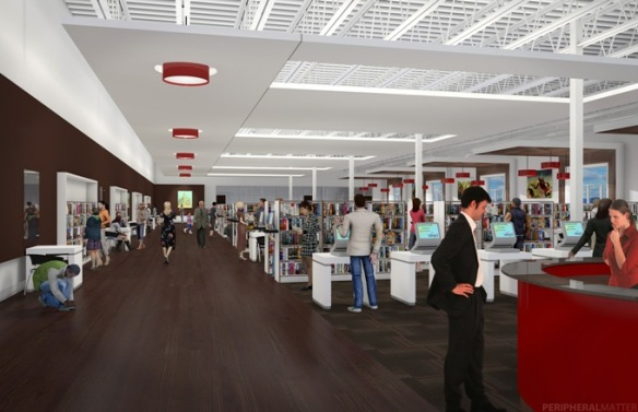 West Side Library Renovation Rendering 3.13.12