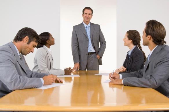 professionals-meeting-presentation